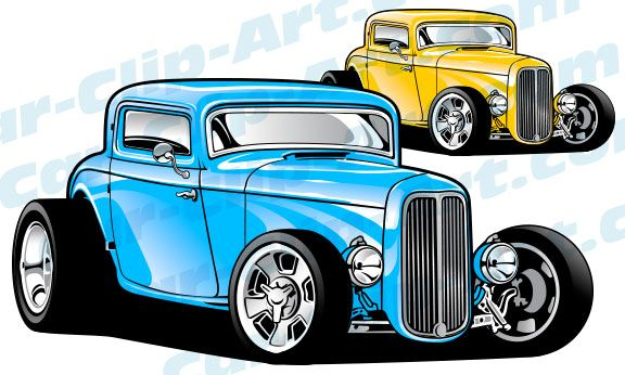 1940 ford deluxe coupe clipart clipart library Custom 1932 Ford 3 Window Hot Rod Vector ClipArt | DAP of DRAWINGS ... clipart library