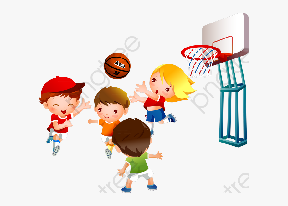 1940 basketball clipart graphic Games Clipart Basketball - Kids Playing Basketball Clipart, Cliparts ... graphic