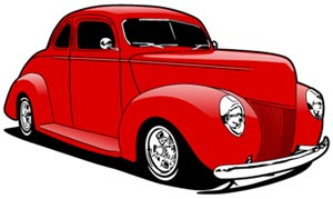 1940 ford deluxe coupe clipart clipart transparent 1940 ford caricature art clipart transparent