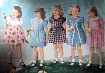 1940 s baby stuff clipart