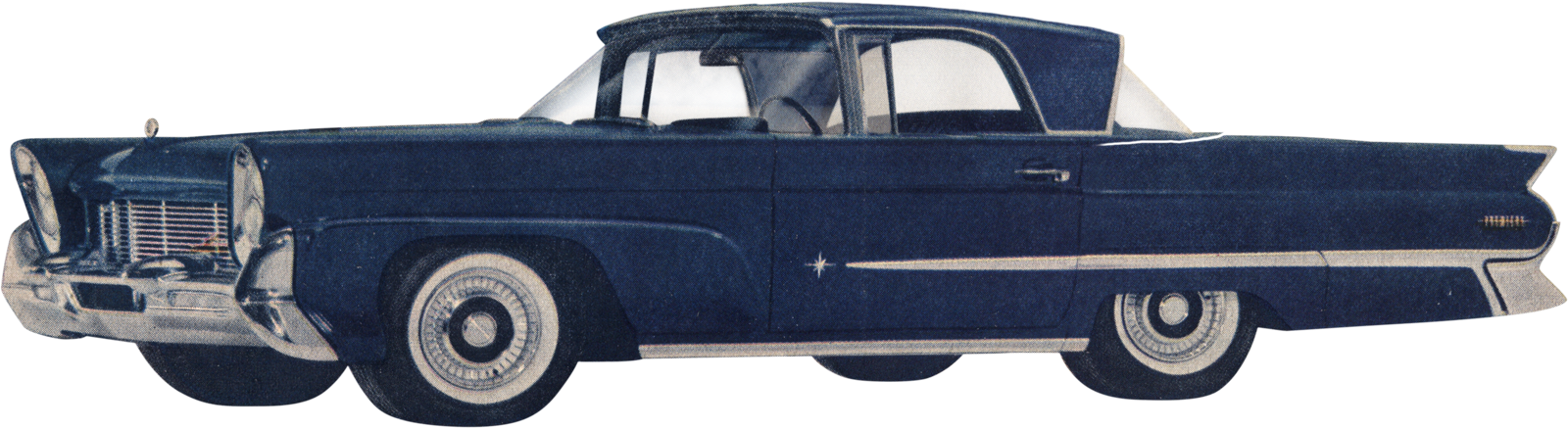 1946 car clipart image transparent library Phil Are Go!: 1958 Lincoln Continental - Lincoln In-Continental? image transparent library