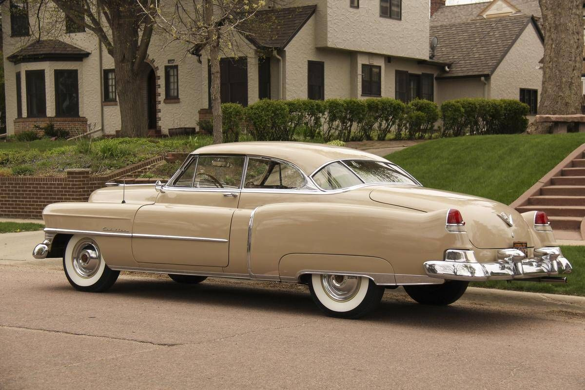 1949 cadillac coupe deville clipart svg free library 1951 Cadillac Coupe DeVille Series 62   Cadillac   American classic ... svg free library