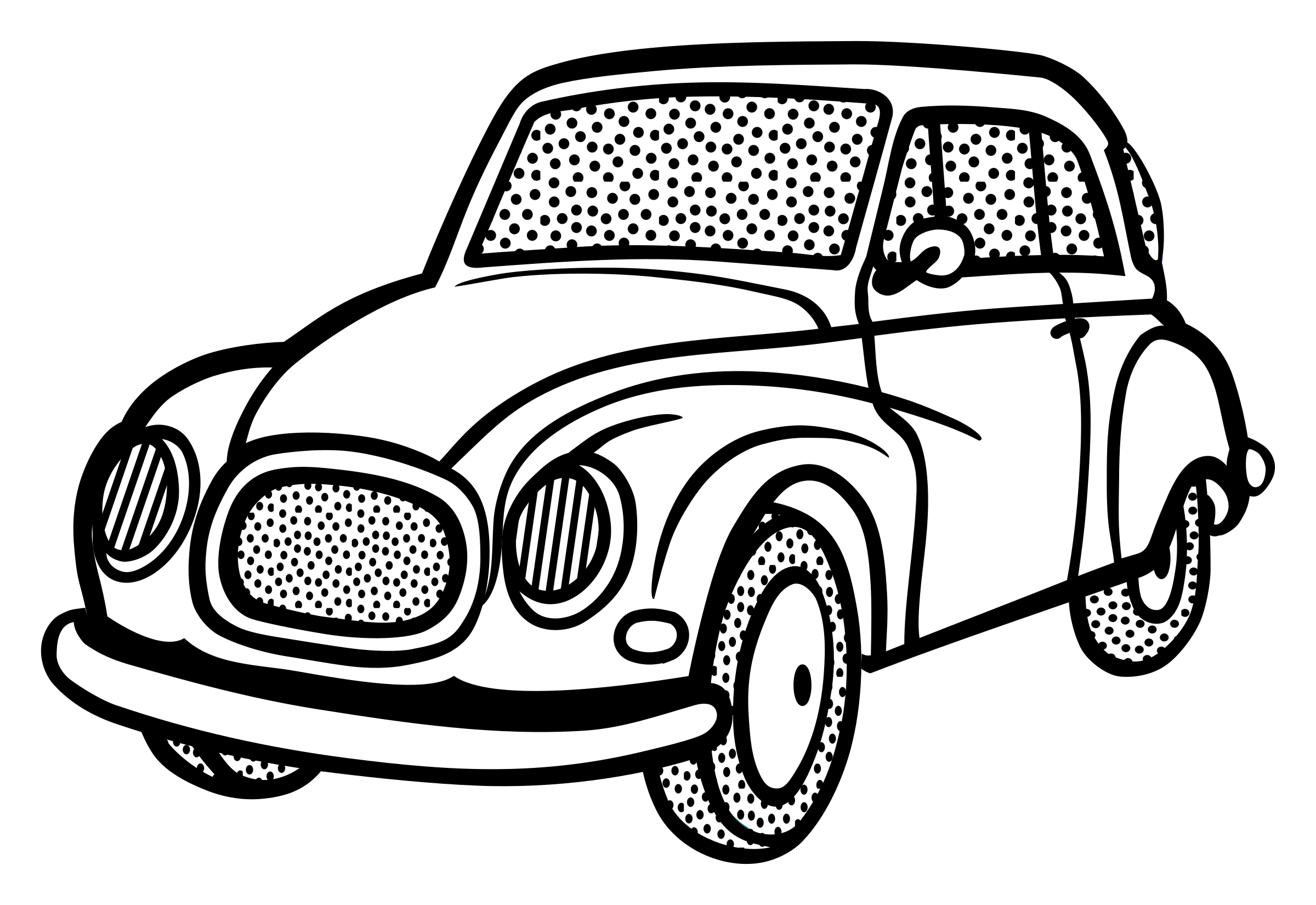 Just married car clipart vector library library Classic Car Line Drawing at GetDrawings.com | Free for personal use ... vector library library