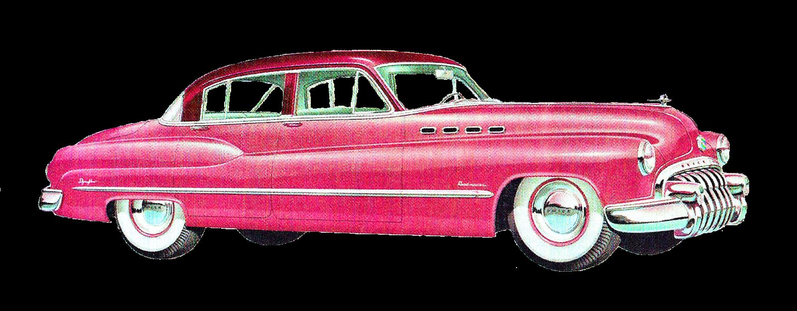 Car travel clipart image royalty free Antique Images: Vintage Old Car Artwork Illustrations Buick Dodge ... image royalty free
