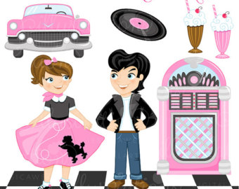 1950 clipart banner library stock 1950 Sock Hop Clipart - Clip Art Library banner library stock