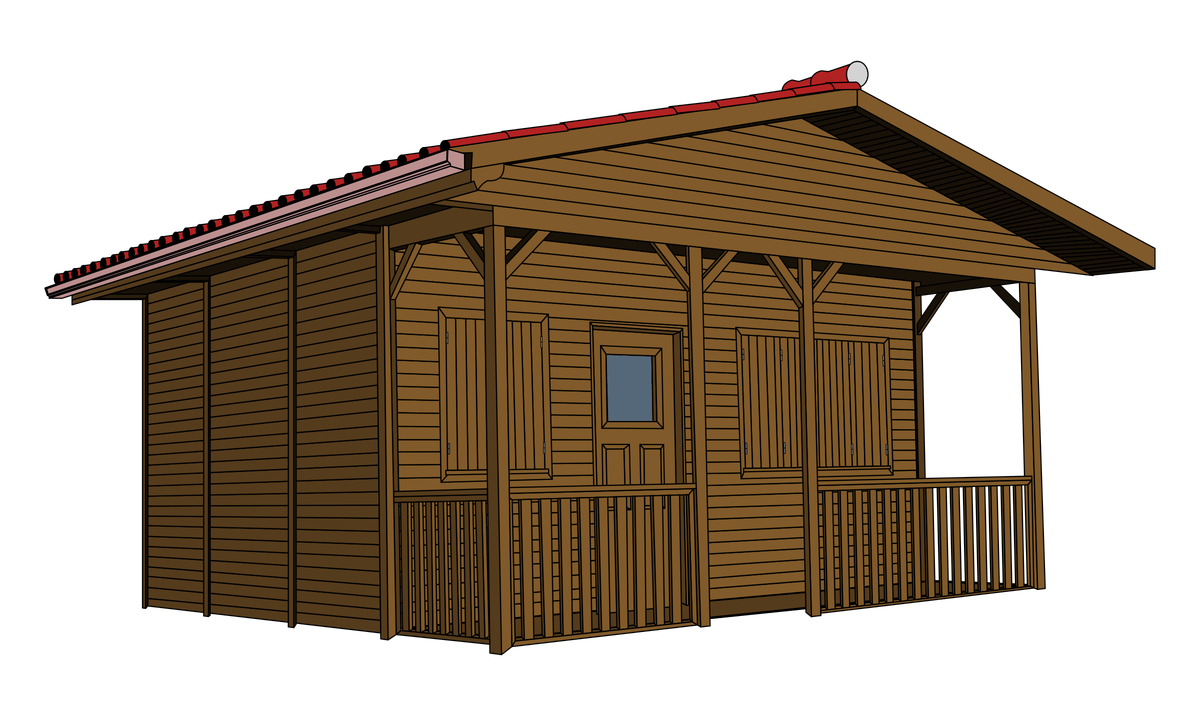 1950 cottage house clipart clip art library stock Clip Art Old Wood Sheds | Wooden Thing clip art library stock