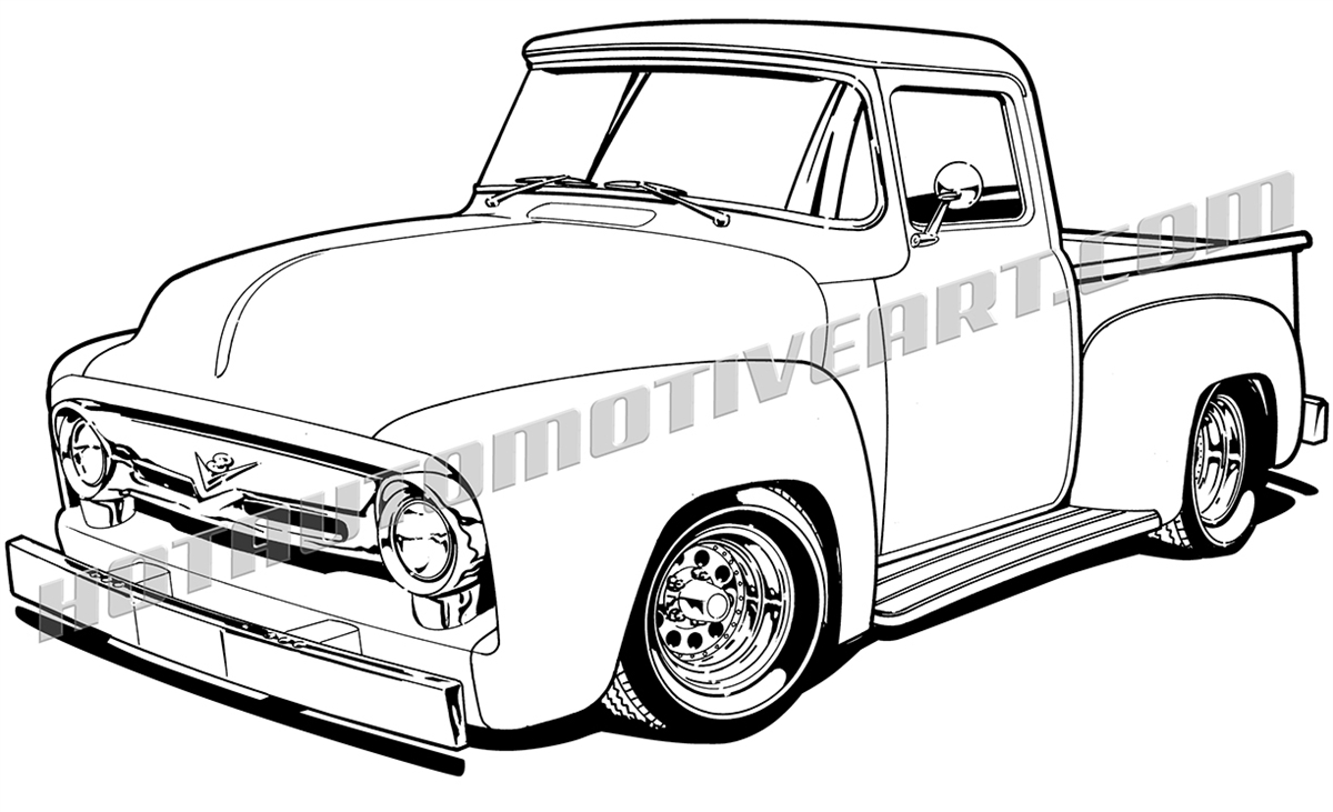 56 chevy truck clipart picture library Ford Truck Clipart | Free download best Ford Truck Clipart on ... picture library