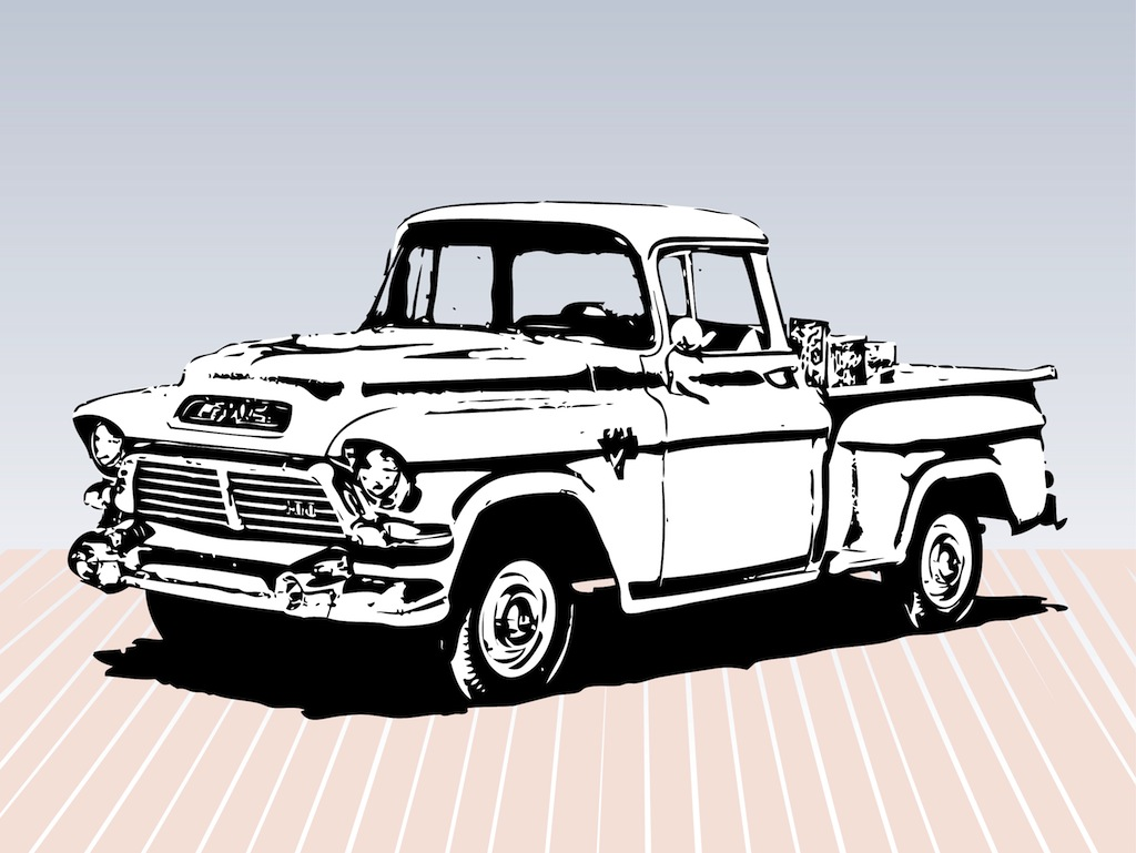 Vintage truck free clipart banner black and white stock Free Old Truck Cliparts, Download Free Clip Art, Free Clip Art on ... banner black and white stock