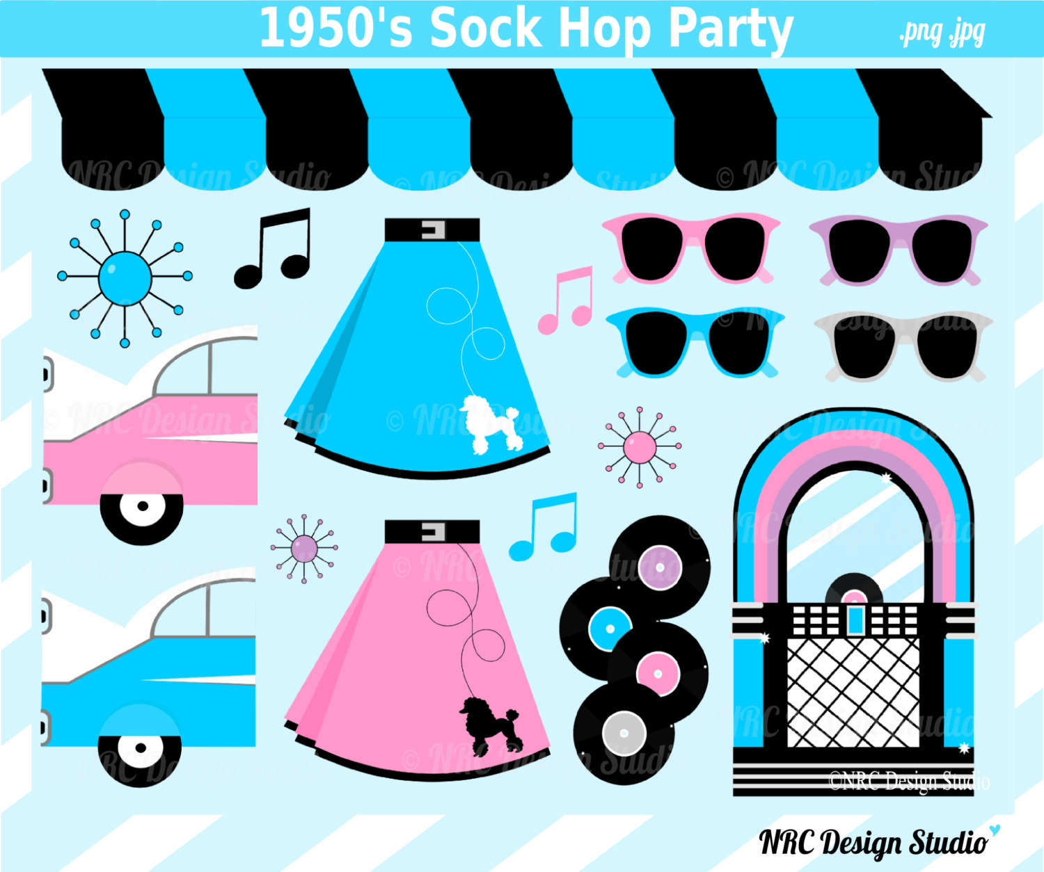 1950-s clipart store