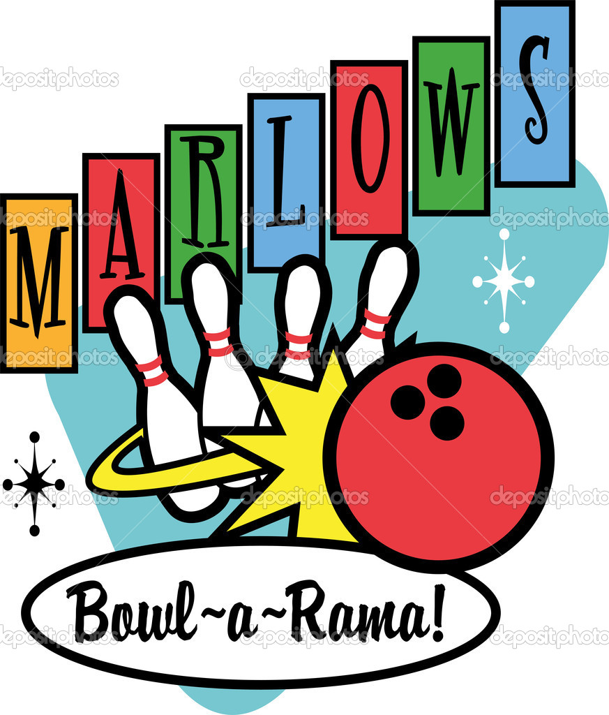 1950-s bowling clipart free image black and white Free Bowling Clipart | Free download best Free Bowling Clipart on ... image black and white