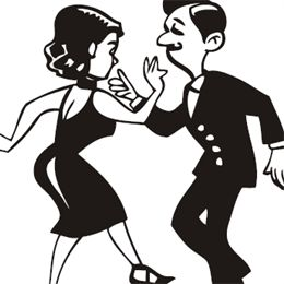 1950-s couple clipart image free download 1950s Dancing Clipart - Free Clipart image free download