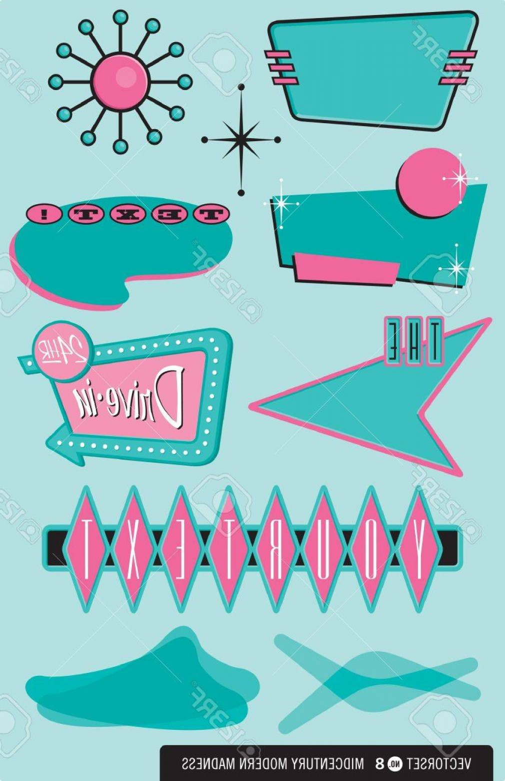 1950s culture clipart png royalty free 1950s Vectors | SOIDERGI png royalty free