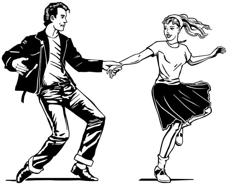 1950s dancing clipart png freeuse library Free Fifties Dance Cliparts, Download Free Clip Art, Free Clip Art ... png freeuse library