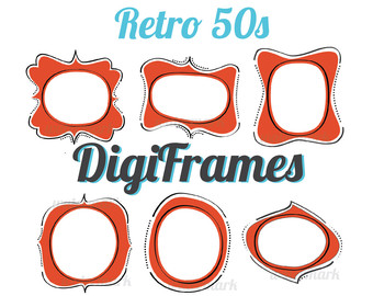 1950s frame clipart jpg royalty free stock Free Retro 50s Cliparts, Download Free Clip Art, Free Clip Art on ... jpg royalty free stock