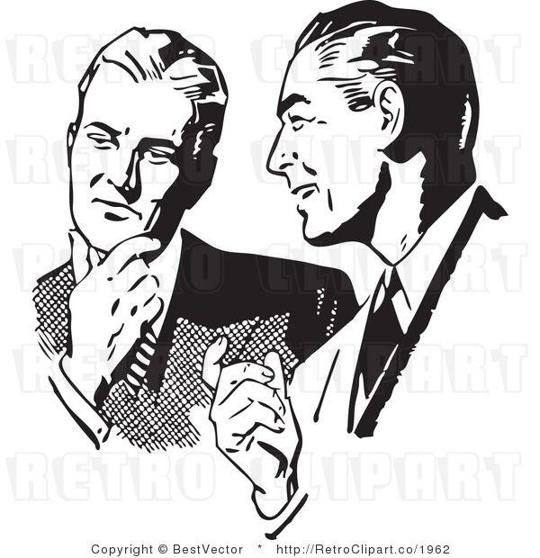 1950-s guy clipart pointing jpg black and white stock retro clip art - Google Search | Retro clipart | Vintage ... jpg black and white stock