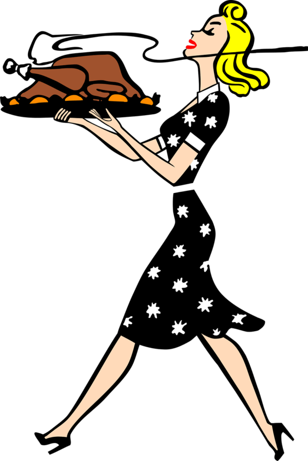 Library of 1950-s housewife image png files Clipart Art 2019