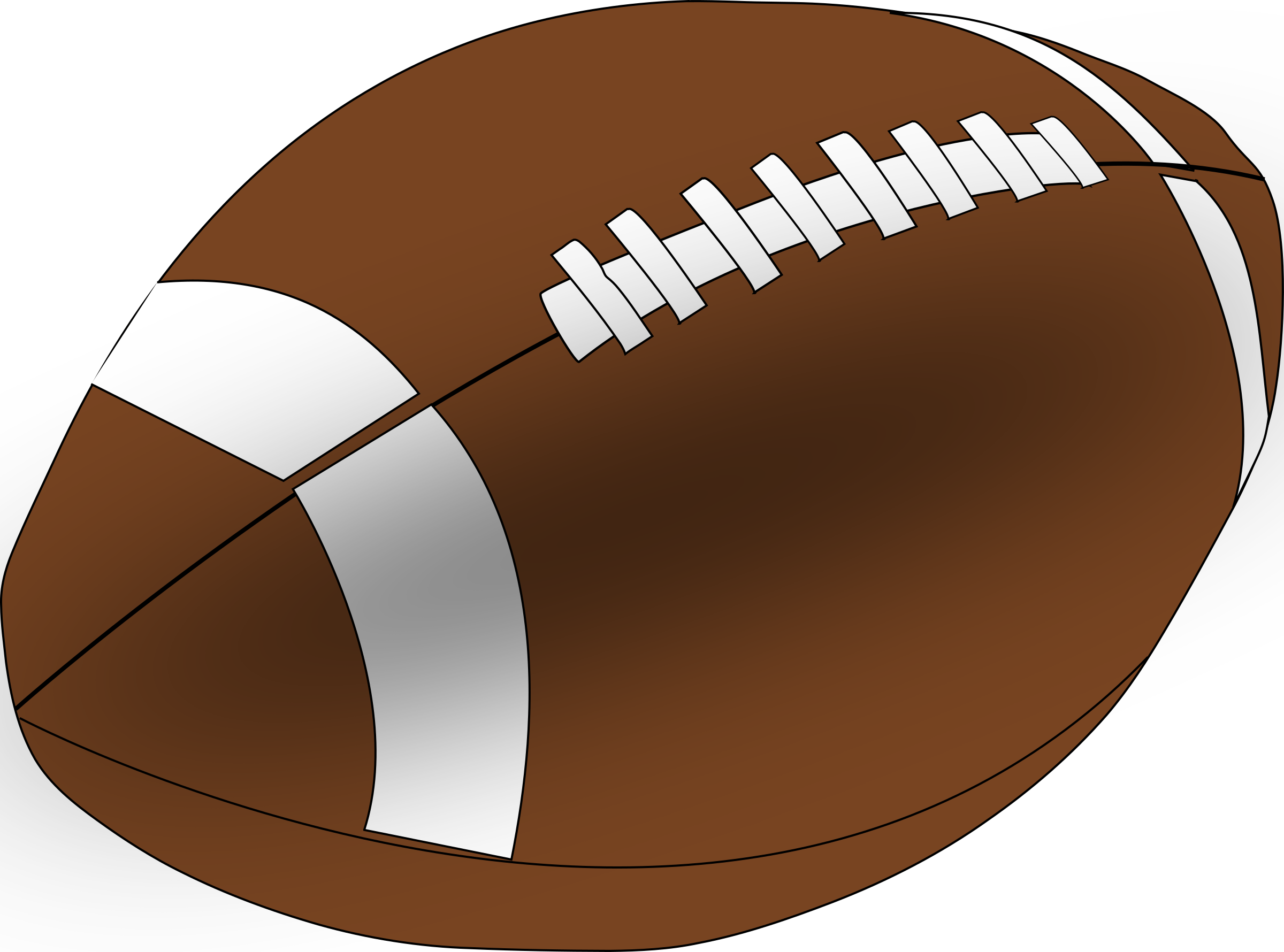 Football clipart free jpg library Clipart - American Football jpg library