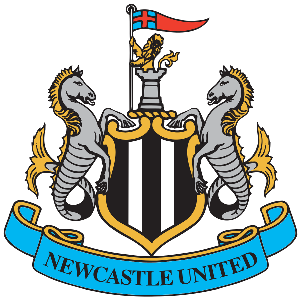 Watching football on tv clipart graphic royalty free library Newcastle United F.C. - Wikipedia graphic royalty free library