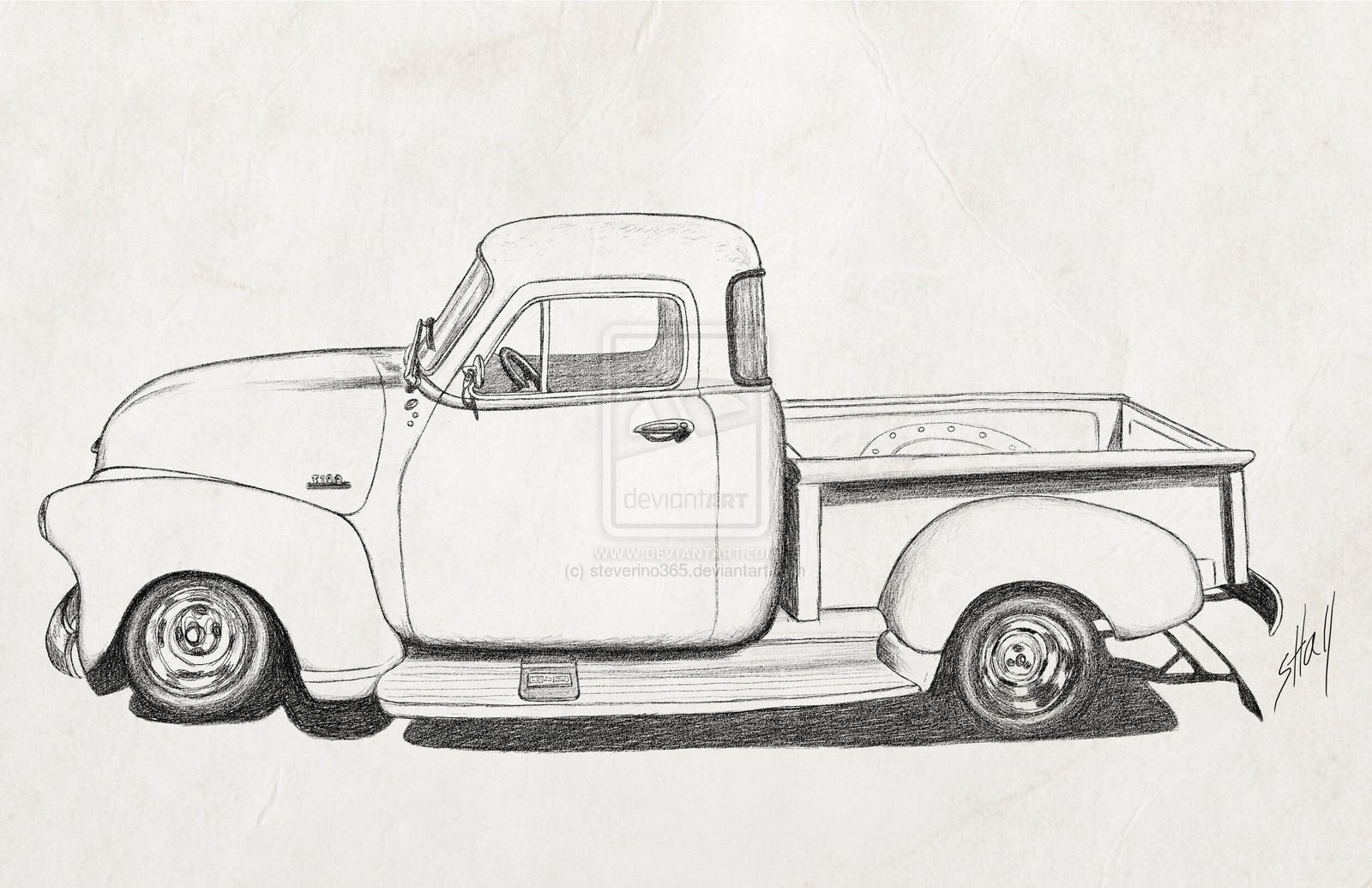 1954 chevy truck clipart picture black and white stock cartoon 1954 chevy truck - Google Search | Vehicles | Car drawings ... picture black and white stock