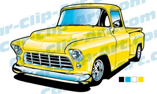 1955 chevy truck clipart clip art download 1955 Chevy Truck Vector Art | Art by HotRodKristina | Chevy, Car ... clip art download