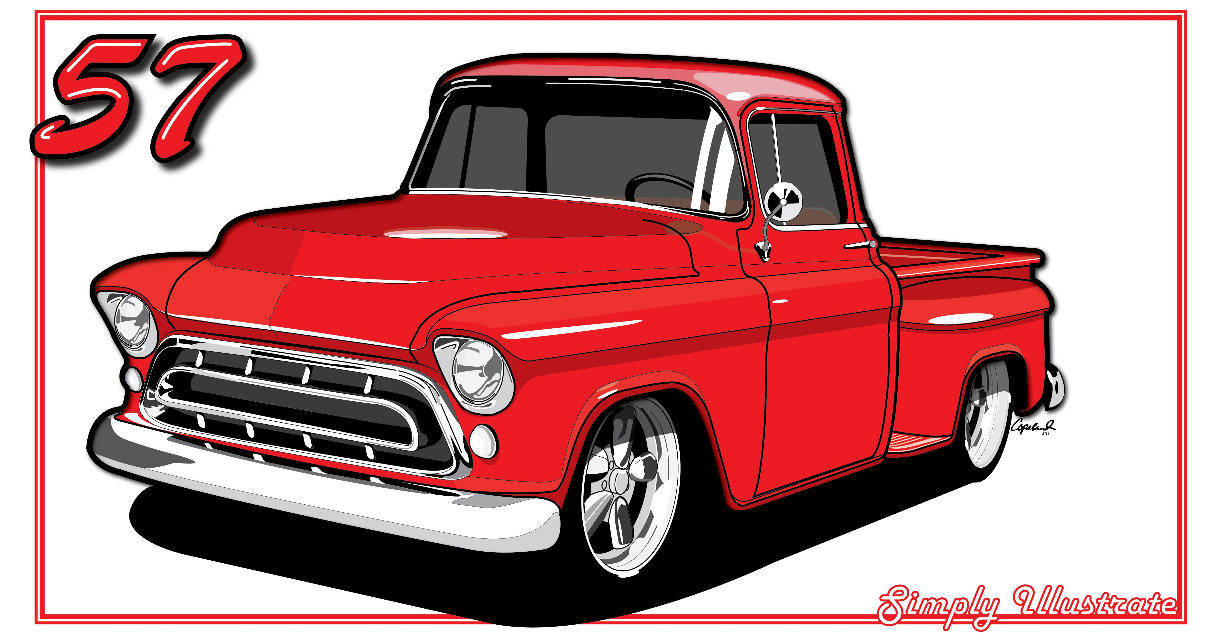 1955 chevy truck clipart jpg library library Collection of Chevy clipart | Free download best Chevy clipart on ... jpg library library