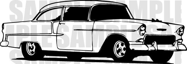 1955 chevy truck clipart graphic royalty free download Free download 55 Chevy Clipart for your creation. | Brantley | Chevy ... graphic royalty free download