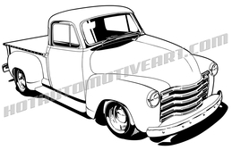 1955 chevy truck clipart picture royalty free library Download 51 chevy truck drawing clipart Pickup truck 1955 Chevrolet picture royalty free library