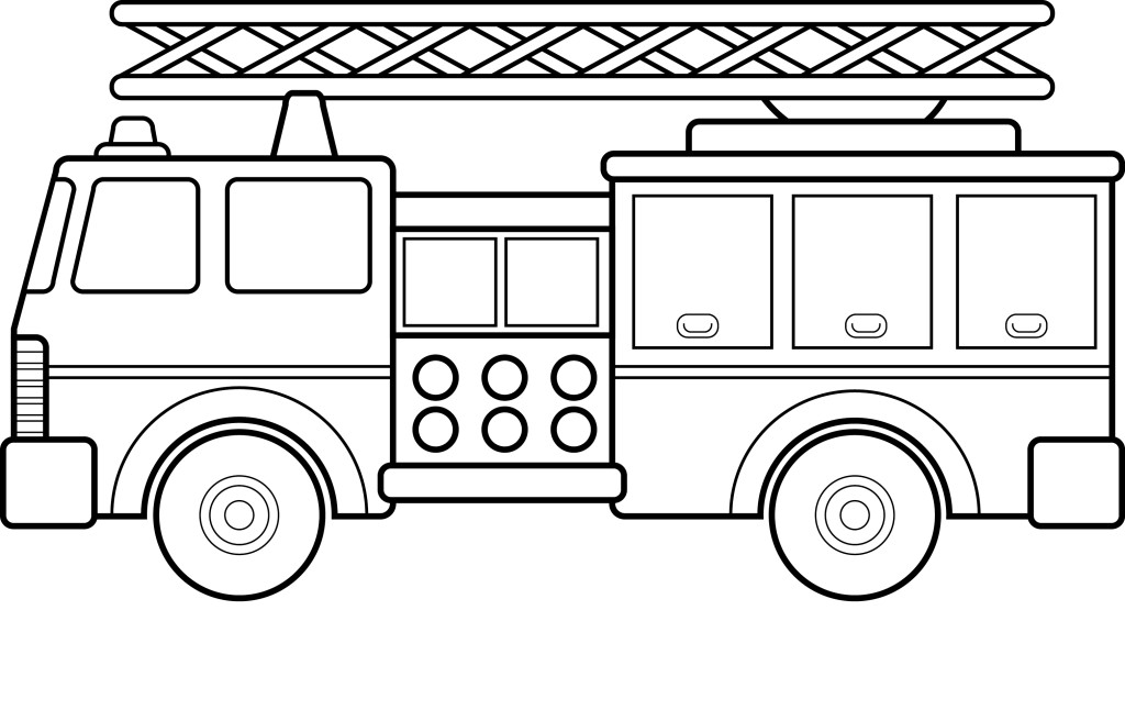 1955 fire truck clipart vector transparent library Free Fire Truck Graphic, Download Free Clip Art, Free Clip Art on ... vector transparent library