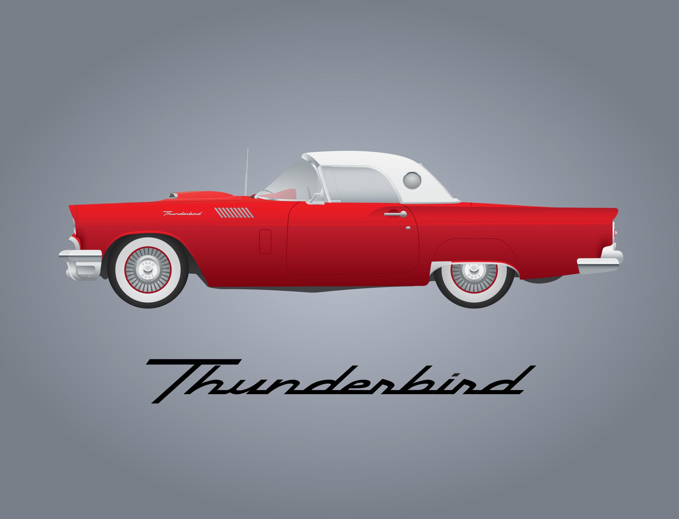 1956 t-bird clipart vector transparent download Thunderbird Cliparts - Cliparts Zone vector transparent download