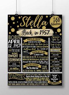 1957 birthday clipart