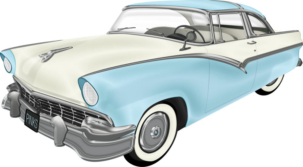 1960 car clipart free png black and white stock Classic car png clipart images gallery for free download | MyReal ... png black and white stock
