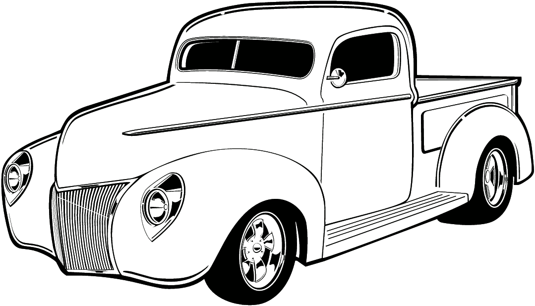 Old truck black and white clipart jpg black and white stock Mustang Car Clipart | Free download best Mustang Car Clipart on ... jpg black and white stock