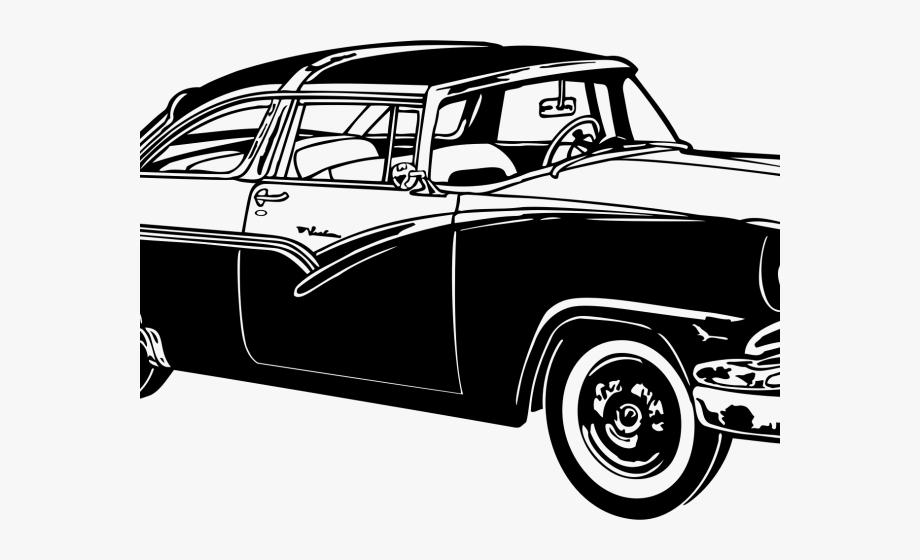 1960 car clipart free clip royalty free download Classic Car Clipart Transparent - Vintage Retro Design Png #870524 ... clip royalty free download