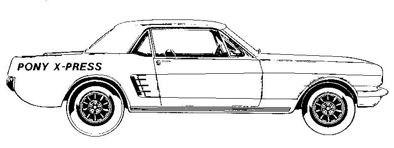 1965 ford falcon profile clipart svg stock Free Mustang Cliparts, Download Free Clip Art, Free Clip Art on ... svg stock