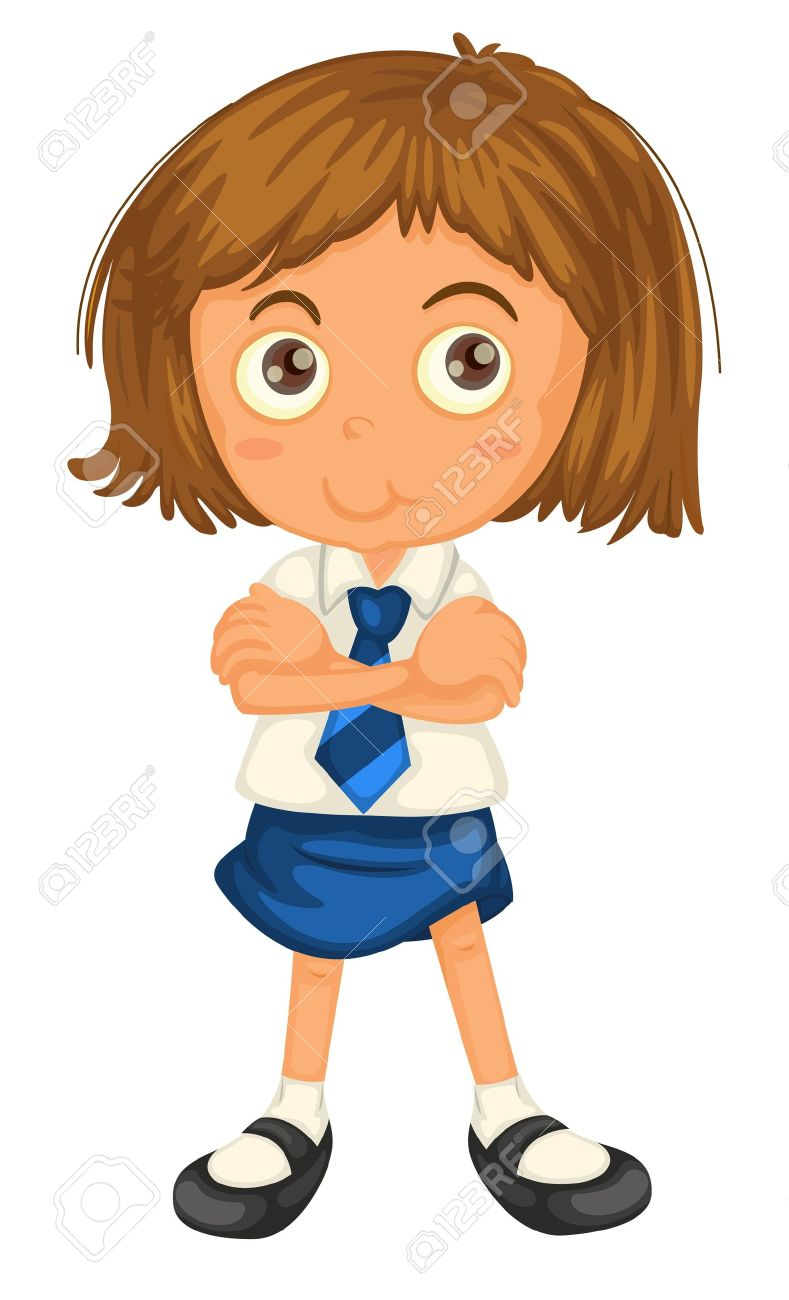 1960 school girl clipart free banner freeuse library Collection of Uniform clipart | Free download best Uniform clipart ... banner freeuse library