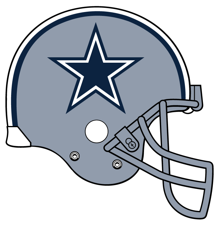 Dallas cowboy images pinterest. Football helmet clipart front