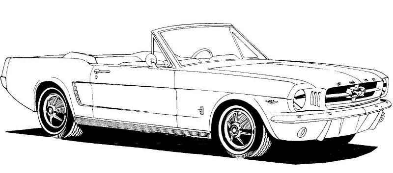 2004 mustang covertible clipart image royalty free 1965 Convertible Clipart | feeling crafty | Mustang cars, Mustang ... image royalty free