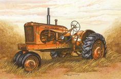 1965 allis chalmers tractor clipart jpg freeuse library 92 Best Allis Chalmers images in 2017 | Allis chalmers tractors, Old ... jpg freeuse library