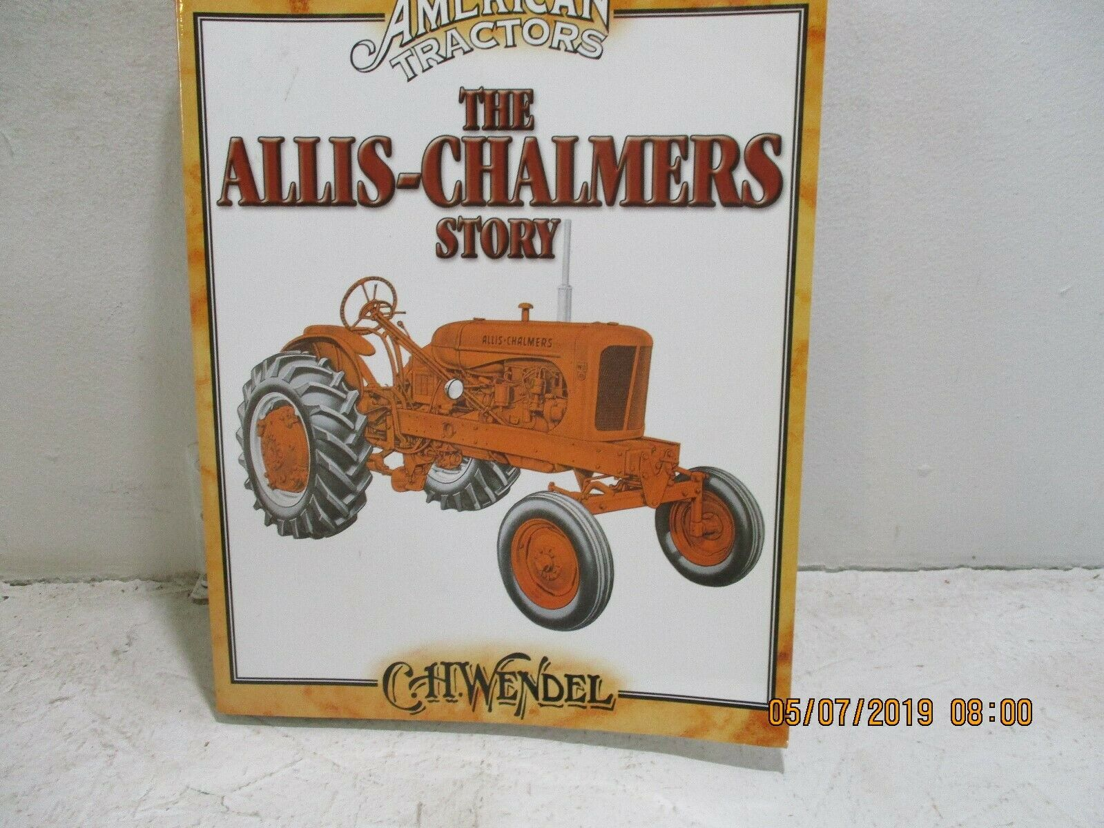 1965 allis chalmers tractor clipart picture transparent Allis-Chalmers Story : Classic American Tractors by C. H. Wendel (2004,  Paperback) picture transparent
