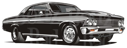 1967 chevelle clipart image library stock 1966 Chevy Chevelle image library stock