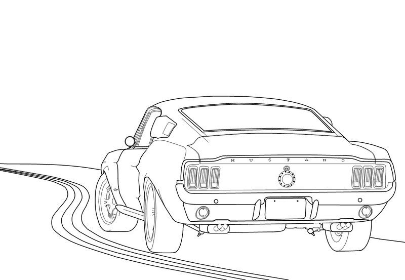 1967 mustang fastback clipart png free 69 mustang fastback | Ford Mustang Fastback 1967 by Lobo-Branco ... png free