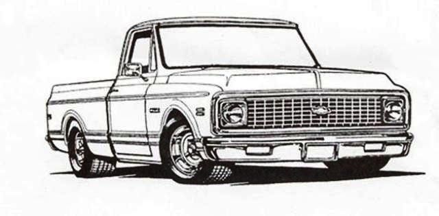 1970 chevy truck clipart clipart free stock Retro Truck Parts Your Online Source For 67 87 Chevrolet Pickup And ... clipart free stock