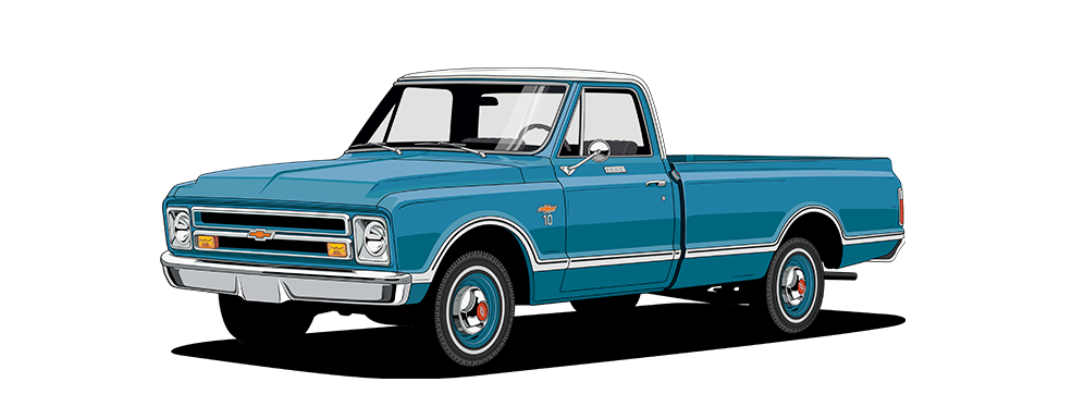 1970 chevy truck clipart image Chevy Truck Legends: 100 Year History | Chevrolet image