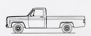 1970 chevy truck clipart vector black and white library Image result for 1972 chevrolet pickup clipart | Signs | Chevy ... vector black and white library