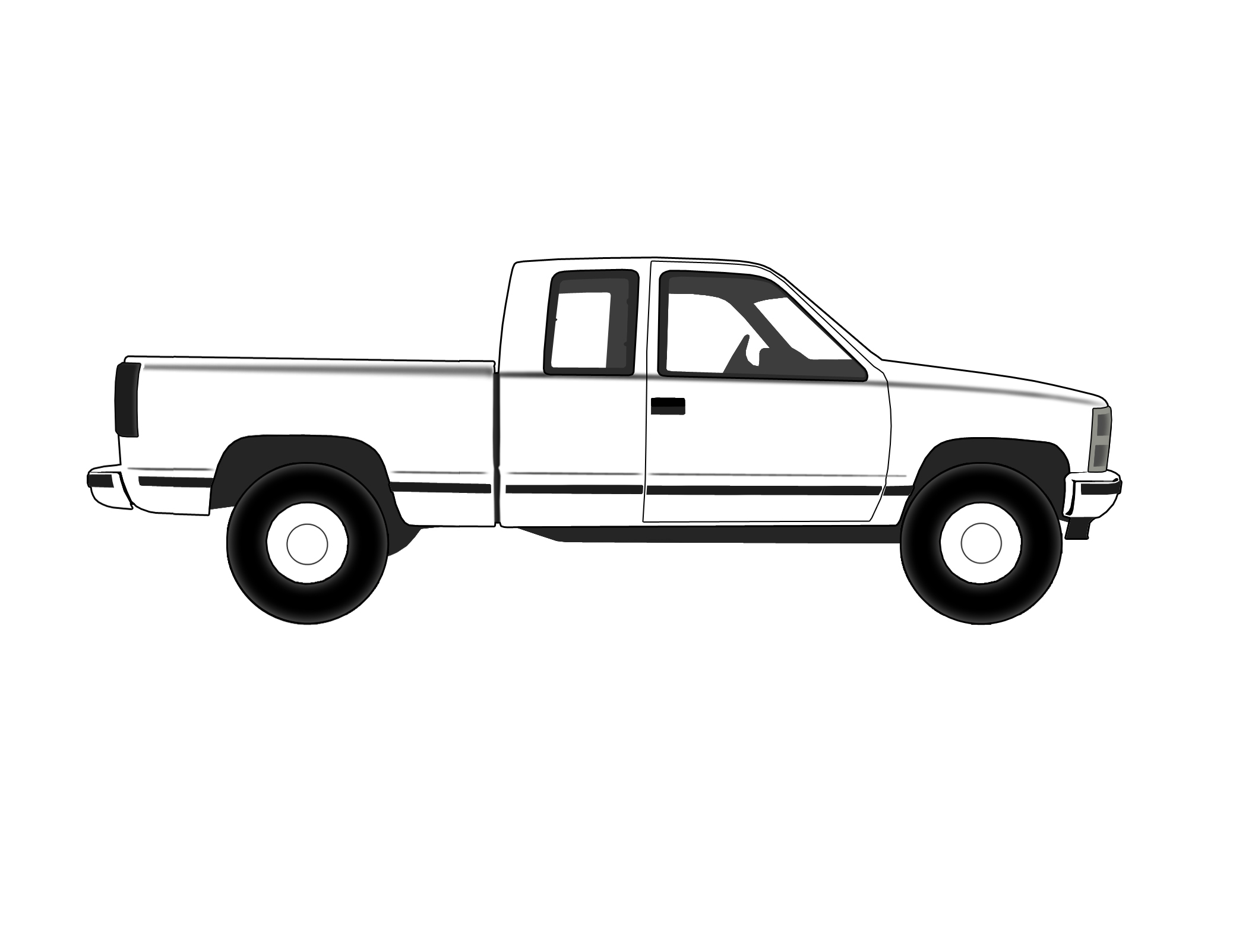 Chevrolet pickup truck side view free clipart clipart freeuse stock Free Chevy Truck Cliparts, Download Free Clip Art, Free Clip Art on ... clipart freeuse stock