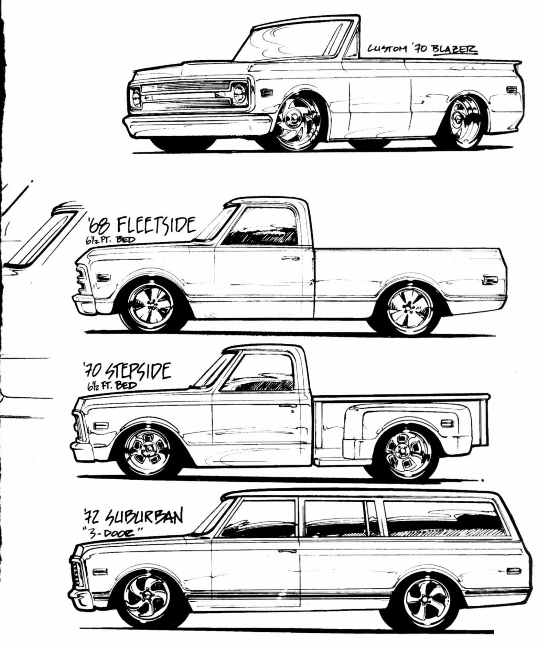 1970 chevy truck clipart picture free stock Cool sketch | 67-72 | Chevy vehicles, 67 72 chevy truck, Chevy trucks picture free stock