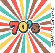Free 1970s clipart svg library stock 70S Clip Art - Royalty Free - GoGraph svg library stock