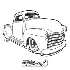 1971 chevy hot rod clipart black and white image black and white download 46 Best Automotive Clip Art images in 2019 | Drawings of cars, Car ... image black and white download