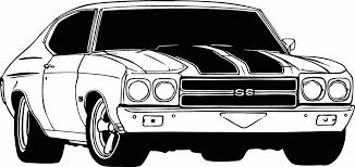 1971 chevy hot rod clipart black and white banner free download Resultado de imagem para drawing chevelle ss | Coloring Pages ... banner free download