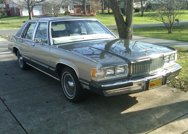 1977 grand marquis clipart image royalty free Curbside Classic: 1989 Mercury Grand Marquis LS – Panthers Run In ... image royalty free